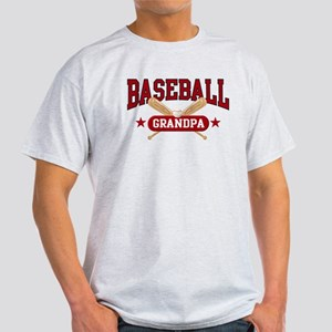 Baseball Grandpa Light T-Shirt