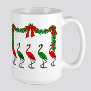 Xmas Flamingo Rockettes Mugs
