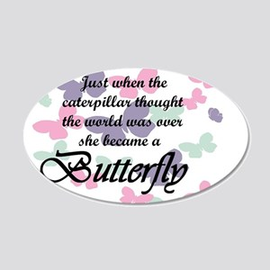 Inspirational Butterfly Wall Decal