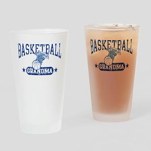Basketball Grandma Drinking Glass
