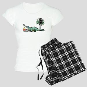 Xmas Gator Gift Pajamas
