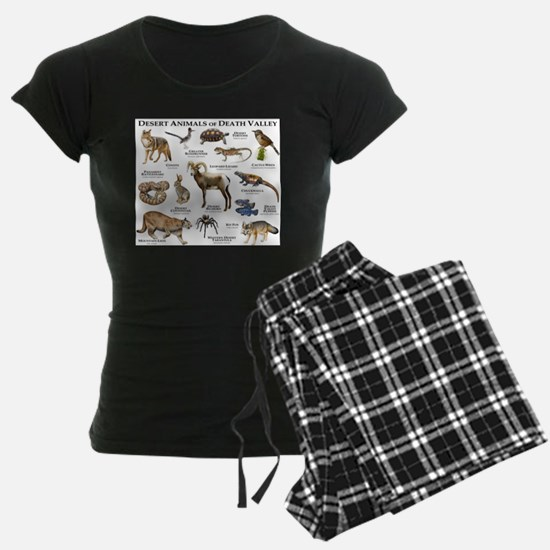 Animals of Death Valley Pajamas