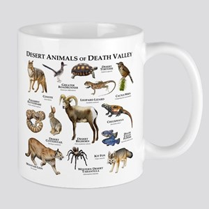 Animals of Death Valley Mug