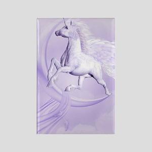 Flying Pegasus Rectangle Magnet