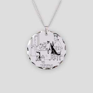 Frankenstein is Recalled Necklace Circle Charm