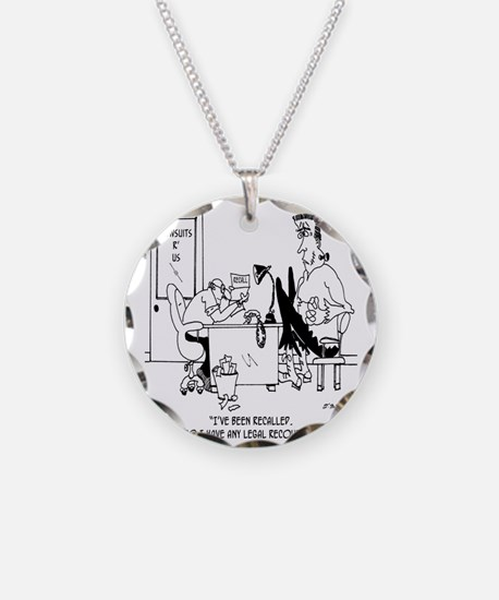 Frankenstein is Recalled Necklace