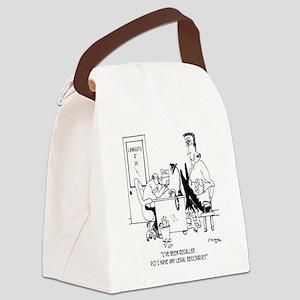 Frankenstein is Recalled Canvas Lunch Bag