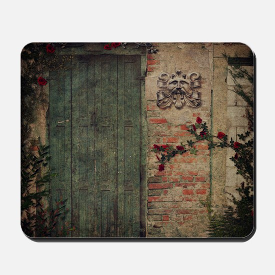 Vintage Doors Mousepad