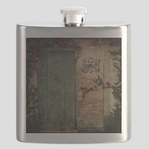Vintage Doors Flask