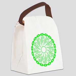 The Disc Golf Experience Canvas Lunch Bag