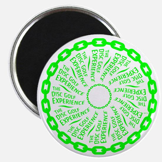The Disc Golf Experience Magnet