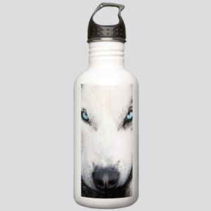 Blue Eyed Husky Stainless Water Bottle 1.0L