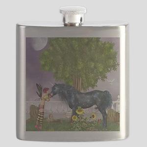 The Last Black Unicorn Flask