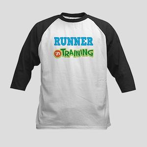 Runner in Training Kids Baseball Jersey