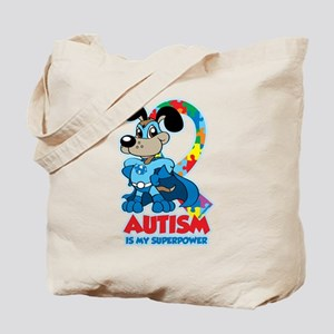 Autism Is My Super Power Tote Bag