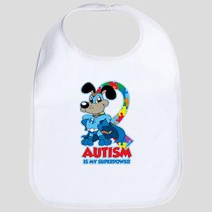 Autism Is My Super Power Bib