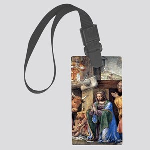 Nativity and Annunciation to the Large Luggage Tag