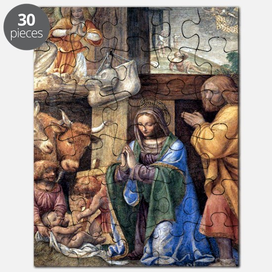 Nativity and Annunciation to the Shepherds  Puzzle