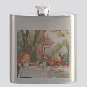 ALICE_MAD HATTER_SQ Flask