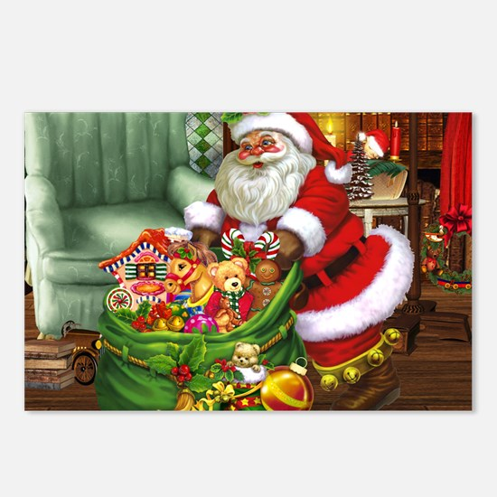 Santa Claus! Postcards (Package of 8)