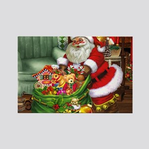 Santa Claus! Rectangle Magnet