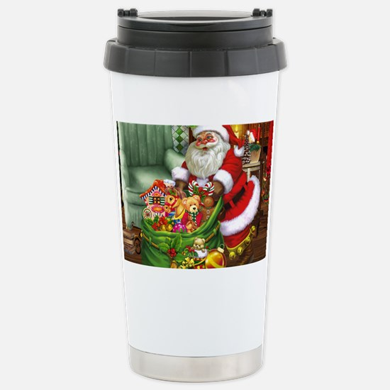 Santa Claus! Stainless Steel Travel Mug