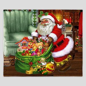 Santa Claus! King Duvet