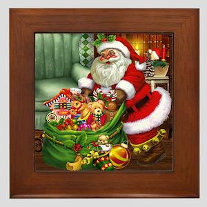 Santa Claus! Framed Tile