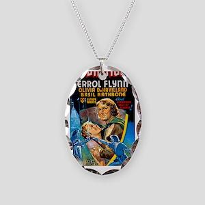 Robin Hood 2 Necklace Oval Charm