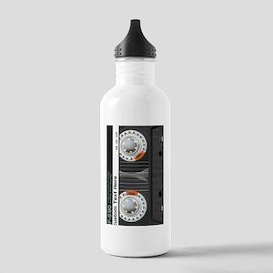Custom Retro Cassette Stainless Water Bottle 1.0L