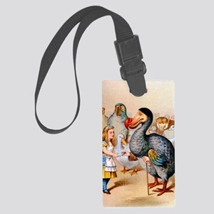 Alice  the Dodo_10x14 Large Luggage Tag