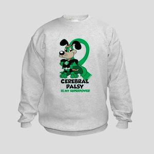 Cerebral Palsy Is My Superpower Kids Sweatshirt