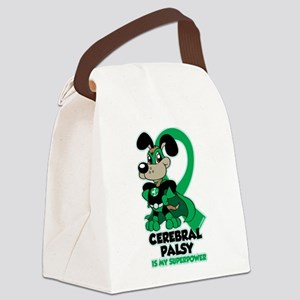 Cerebral Palsy Is My Superpower Canvas Lunch Bag