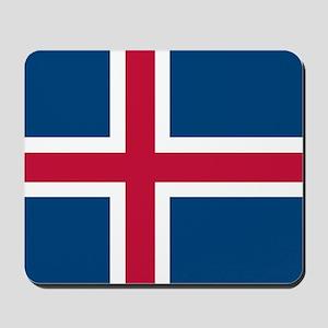 Icelandic Flag Mousepad