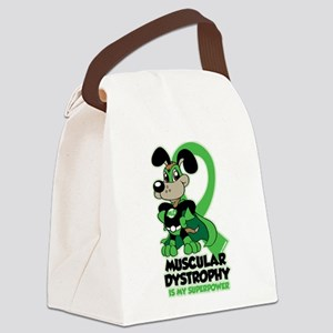 Muscular Dystrophy Superpower Canvas Lunch Bag