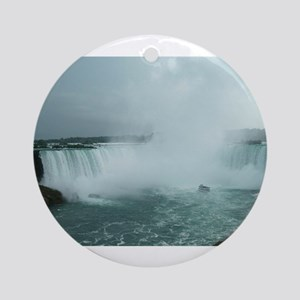 Niagara cropped Ornament (Round)