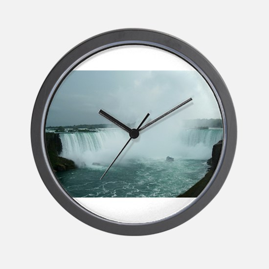Niagara cropped.jpg Wall Clock
