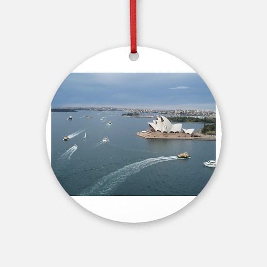 Sydney Holiday 132.jpg Ornament (Round)