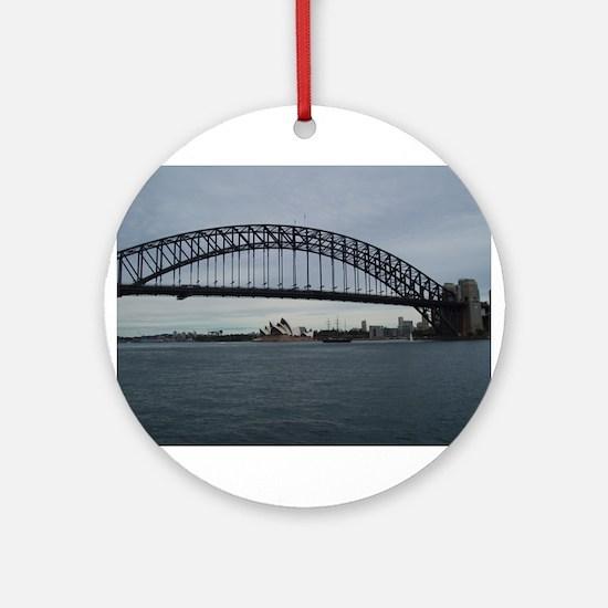 Sydney Holiday 121.jpg Ornament (Round)