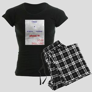 school change 1 Women's Dark Pajamas
