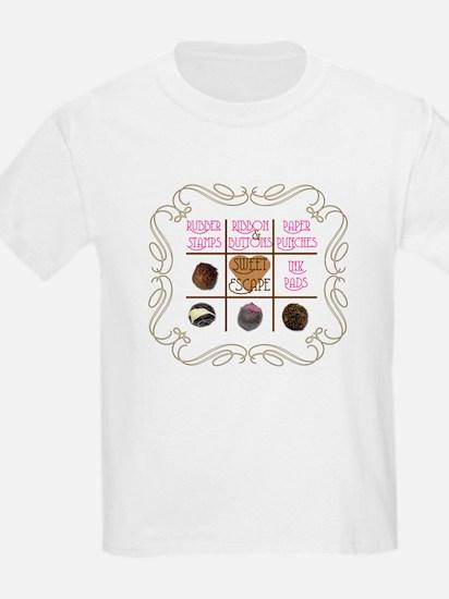 Sweet Sanity Escape Kids T-Shirt