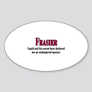 Frasier Cupid Quote Sticker (Oval)