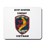 201st AVIATION COMPANY Mousepad