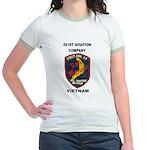 201st AVIATION COMPANY Jr. Ringer T-Shirt