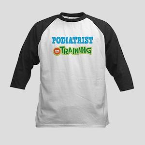 Podiatrist in Training Kids Baseball Jersey
