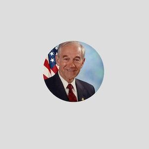 Ron Paul Congressional Photo Mini Button
