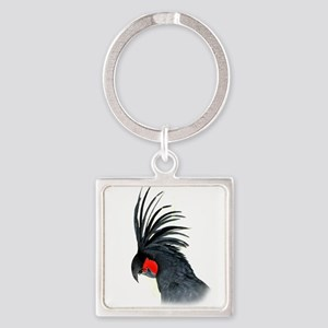 Palm Cockatoo Keychains