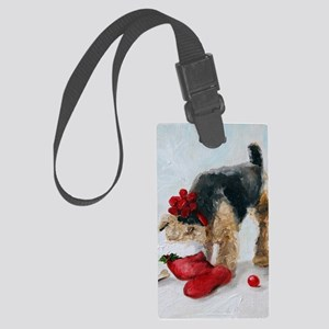 Christmas Surprise! Large Luggage Tag