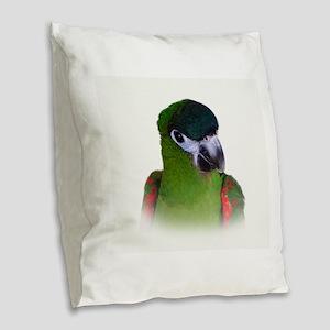 Hahns Macaw Burlap Throw Pillow