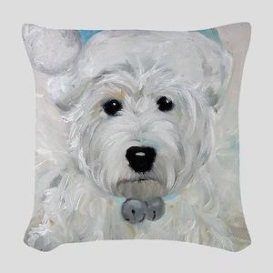 Tarheel Santa Woven Throw Pillow